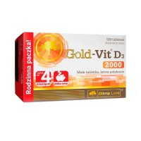 Olimp Gold Vitamin D3 2000 120 tablets