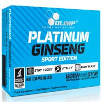Olimp Platinum Ginseng Sport Edition 60 капсул