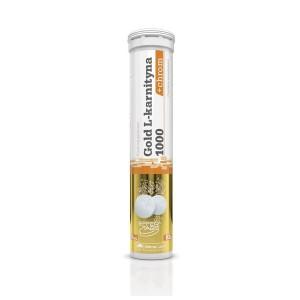 Olimp Gold L-carnitine 1000mg and chrome 20 таблеток (цитрус-лимон)