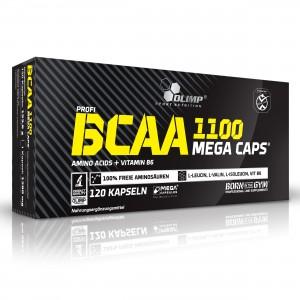 Olimp BCAA MEGA CAPS 120 капсул 24 порций