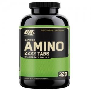 Optimum Nutrition Superior Amino 2222 320 таблеток