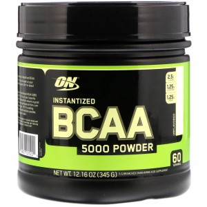 Optimum Nutrition Instantized Bcaa 5000 380 грамм