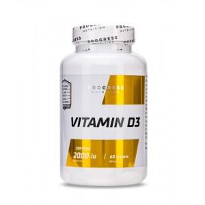 Progress Nutrition Vitamin D3 2000 (60 tablets)