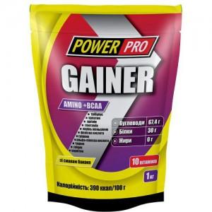 Power Pro Гейнер 1 кг 30% протеина