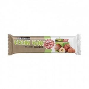 Power Pro батончик vegan bar без сахара 32% 60 грамм