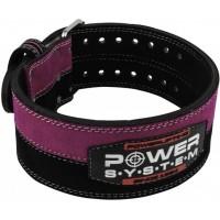 Power System пояс для тяжелой атлетики PS-3850 женский Black/Pink S