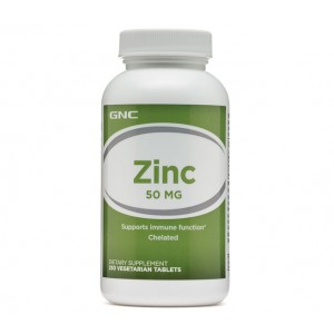 GNC Zinc 50mg 250 caps