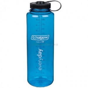 Бутылка для воды Nalgene (2178-0048) Wide Mouth Silo 1.4L gray