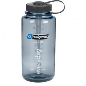 Бутылка для воды Nalgene (2178-X02X) Wide Mouth 1L Gray/Black
