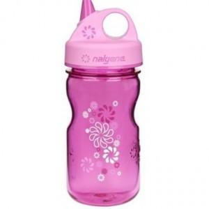 Детская бутылка для воды Nalgene (2182-X012) GRIP-n-GULP pink