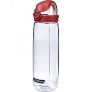 Nalgene On The Fly Beet спортивная бутылка для воды Red Cap 650 мл