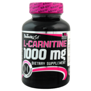 Biotech Usa L-carnitine 30 tabs 1000mg