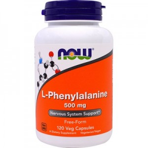 NOW L-Phenylalanine 500 mg 120 капсул