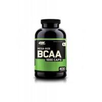Optimum Nutrition Mega size bcaa 1000 400 капсул