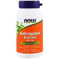 Now Astragalus 500mg 90 caps