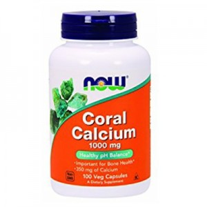 Now coral calcium 1000 mg 100 капсул