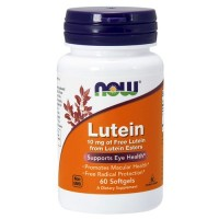 Now Lutein 10mg (60 softgels)