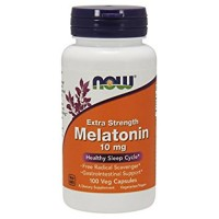 NOW Melatonin 10 mg 100 капсул