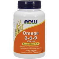 NOW Super omega 3-6-9 90 softgels