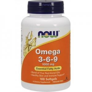 NOW Super omega 3-6-9 90 softgels