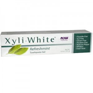 NOW  Xyliwhite Toothpaste Mint (181 g)