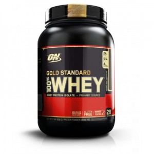 Optimum Nutrition GOLD STANDARD 100% WHEY 2 LB 908 грамм