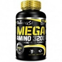 Biotech Usa Mega Amino 3200 100 таблеток (25 порций)