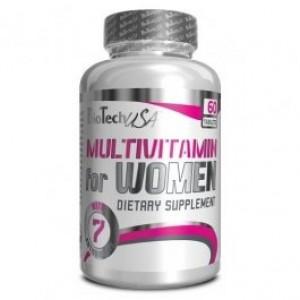 Biotech Usa Multivitamin for Women 60 таблеток