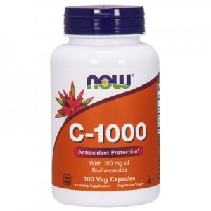 NOW Vitamin C 1000 100 капсул