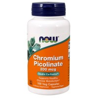 NOW Chromium picolinate 200mcg 100 капсул