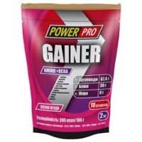 Power Pro Гейнер с протеином 2 кг  30% белка