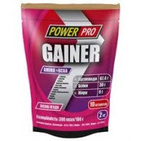 Power Pro гейнер 2000 грамм (30% протеина)
