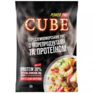 Power Pro каша cube рис с морепродуктами 50 грамм (30% протеина)