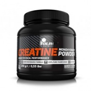 Olimp Creatine monohydrate powder 250 грамм 50 порций