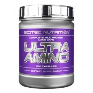 Scitec Nutrition Ultra amino 500 капсул