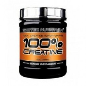 Scitec Nutrition 100% CREATINE 300 грамм 60 порций