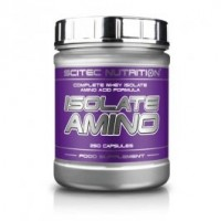 Scitec Nutrition Isolate amino 500 caps 125 порций