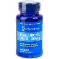 Puritan's Pride Hyaluronic Acid 100 mg (30 и 60 капсул)