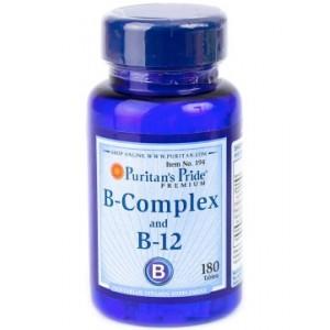 Puritan's Pride B-Complex + B-12 (180 таб.)