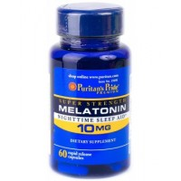 Puritan's Pride Melatonin 10mg (60 капс.)