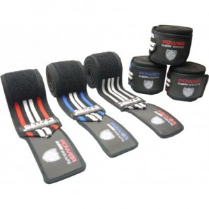 Бинты на колени  Knee Wraps  Power System PS-3700