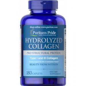 Puritan's Pride Hydrolyzed Collagen (180 таб.)
