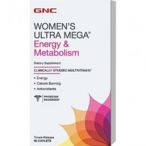 GNC Womens Ultra mega energy metabolism 180 caplets