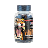 Cloma Pharma Black Tiger (чёрный тигр) 100 caps