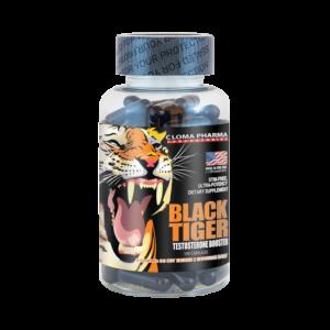 Cloma Pharma Black Tiger (чёрный тигр) 100 caps