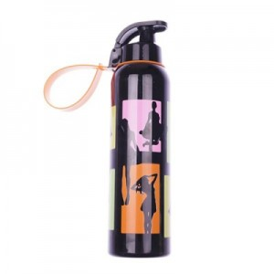 Herevin bottle 750 ml model orange