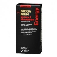 GNC Mega Men Energy Metabolism 180 caplets
