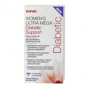 GNC Womens diabetic support 90 caplets