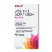 GNC Womens Ultra Mega Active 180 caplets