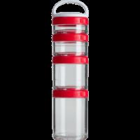 BlenderBottle Контейнер GoStak Starter 4 Pak Красный (350 мл)